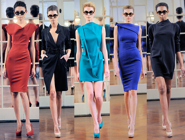 victoria beckham dresses collection. Victoria Beckham Fall 2010