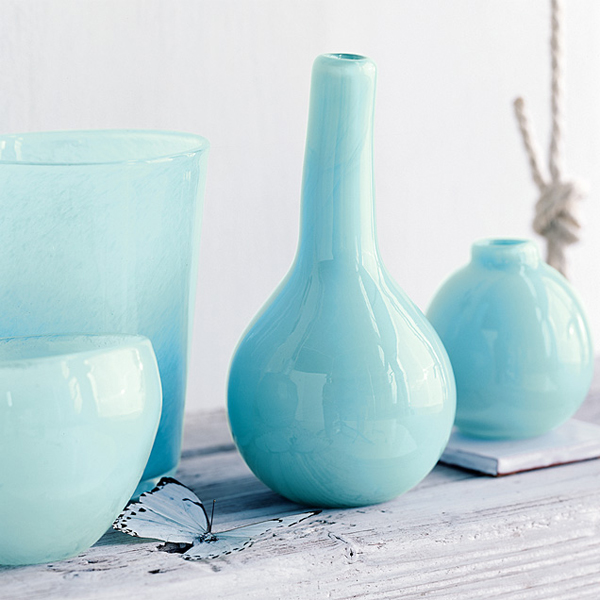 Love Made Visible | West Elm Colored Glass Vases